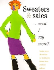Sweaters and Sales