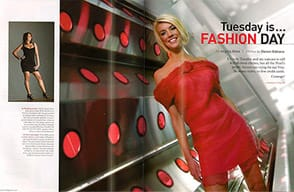 Tuesday is Fashion Day
