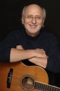 Peter Yarrow with guitar